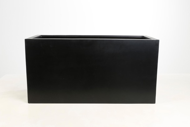 grand bac de terrasse rectangulaire fiberstone fleur. Black Bedroom Furniture Sets. Home Design Ideas