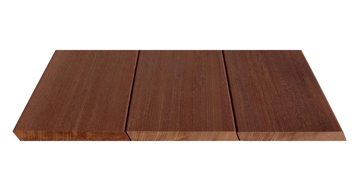 planche de terrasse lisse en bois exotique fleur. Black Bedroom Furniture Sets. Home Design Ideas